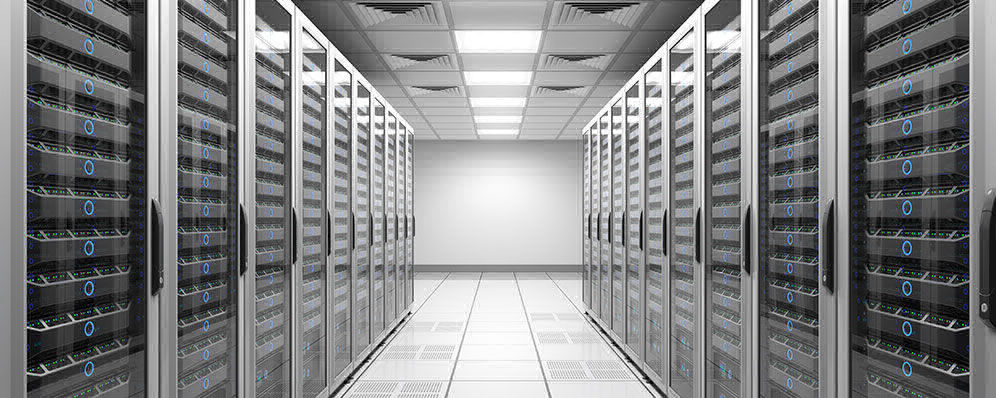 Picture of a organized datacenter / ADVANTESCO